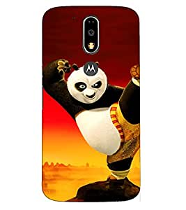 Doyen Creations Printed Back Cover For Moto G4 Plus