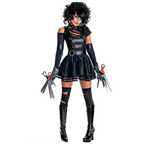 Averyshowya Kleidung für Erwachsene Kostüm für Erwachsene Halloween weibliche Polizei Braut weibliches Kleid Spielen Kleidung Bühne Party Performance Tuch @ (Weibliche Polizei Kostüm)