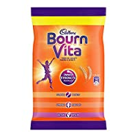Bournvita Pro-Health Chocolate Drink Pouch - 75g - Pack of 8