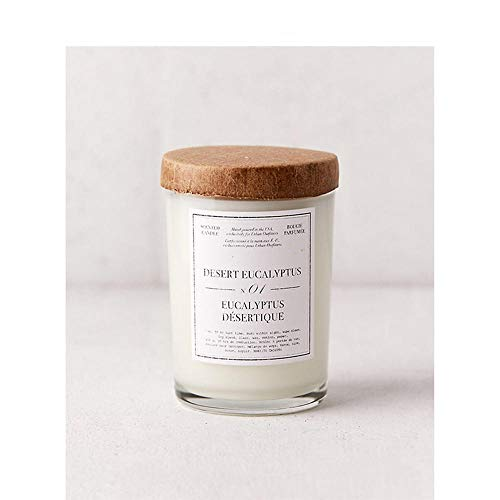 XPCT Glasdosen, Duftkerzen, einfache, tragbare, Neue Wohndekoration-Wüsten-Eukalyptus