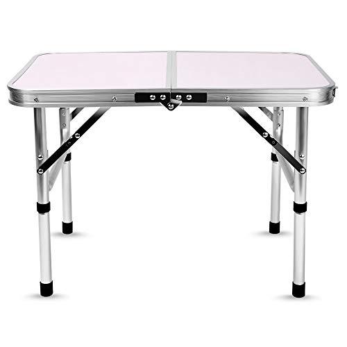 Wulihong-tavolo campeggio tavolo da campeggio pieghevole in alluminio letto per laptop scrivania tavoli da esterno regolabili bbq portatile leggero semplice anti-pioggia per pic-nic