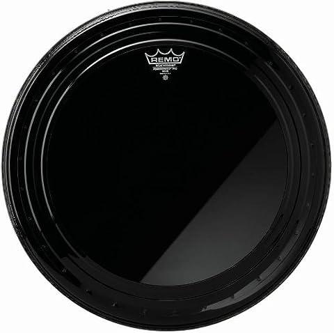Remo Powerstroke Pro Bass Drumhead Ebony 22