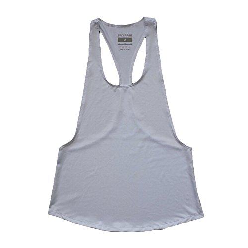 Tank Top Julee Quick Dry Vest Singlet Per Donna T-shirt Bianca