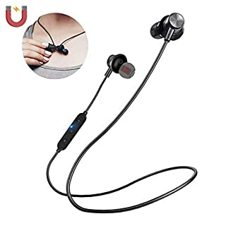 Bluetooth Headphones, AOMEES Wireless Headsets Sports Earbuds Bluetooth 4.2 Magnetic Stereo in-Ear Earphones