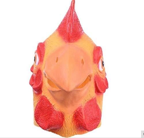 Von Einem Huhn Kostüm Bilder - CS-LJ X HallowasParty Requisiten Kostüm Masken Tier Huhn Maske Kopf Vollgesichtsmaske Halloween Party Prop Allerheiligen