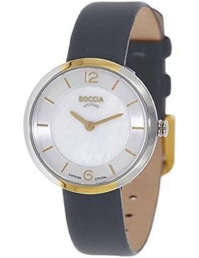Boccia Damen-Armbanduhr 3266-04
