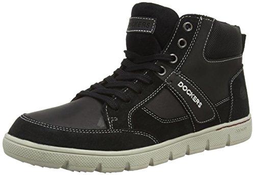 Dockers by Gerli 35BJ008-204100 Herren Desert Boots Schwarz (schwarz 100)