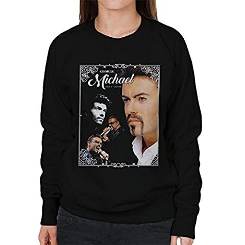 George Michael 1963-2016 Tribute Women's Sweatshirt