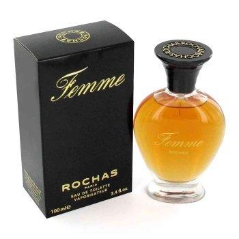 """""""Femme"""" by Rochas Eau de Toilette 100ml/3.4 ounces Fragrances for…"""
