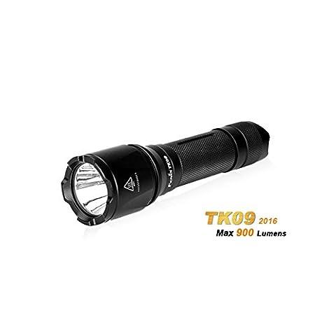 [Livraison Gratuite 7-12 jours] Fenix tk09 2016 xp-l salut 900lm 18650 4 en mode imperméable à l'eau LED lampe de poche BML®