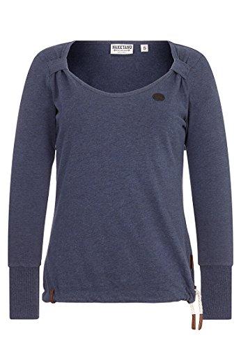 Naketano Female Sweatshirt Big Dudelsack Flavour Dark Night Melange, S