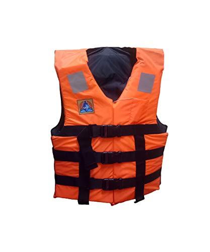 Jilani Safety Life Jacket for Adult Weight Capacity Up to 70Kg Orange