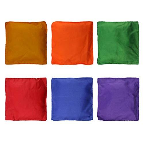 Preisvergleich Produktbild 6 STÜCKE outdoor sports schaumpartikel platz kinderspiel sandsack nylon tuch safe throw sandsack