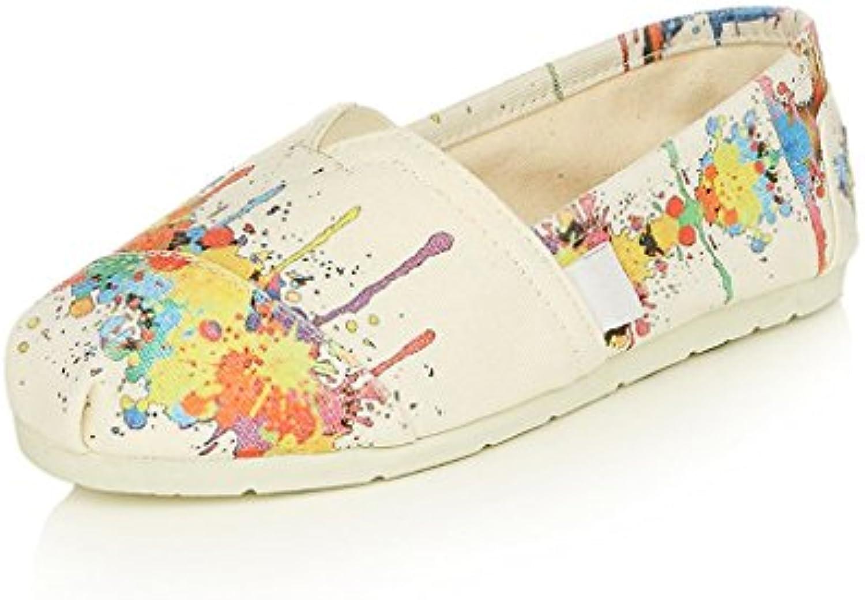 Sandales Zapatos De Tela Mujer Primavera Y Verano Nuevo Zapatos Planos Transpirable Versión Coreana Zapatos De...