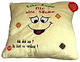 Kissen Ruhe-Kissen für alte Säcke mit Schnachgeräusch, Plüsch Kuschelkissen