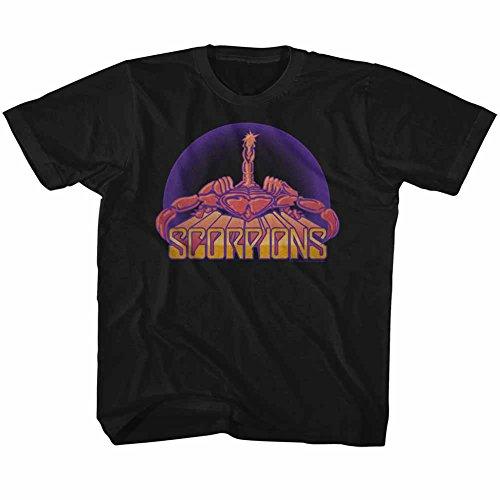 American Classics Scorpions deutsch-rock-band br skorpion jugend großes T-shirt für Jungen Jugend X- Klein Schwarz