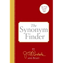 The Synonym Finder by J. I. Rodale (1958-08-15)