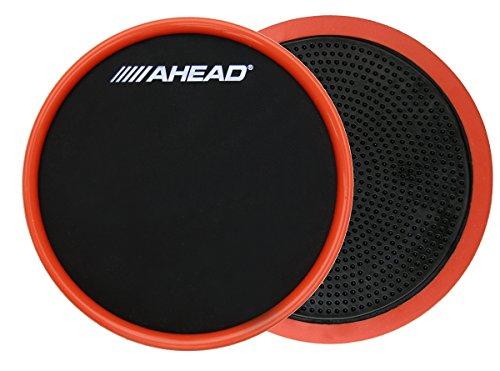 Ahead ashopp Kompakter Stick auf Practice Pad mit Trim, schwarz/rot, 6 Pad Trim