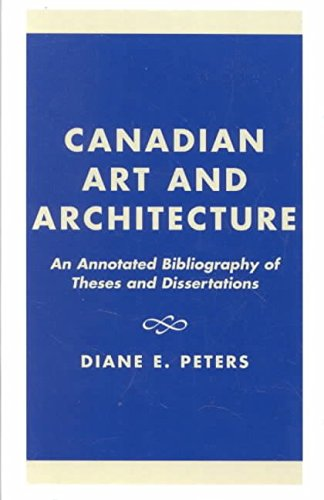 [Canadian Art and Architecture: An Annot...