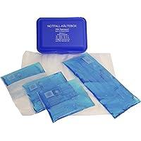 Praktische Kältebox mit 4er Sparpack Kühlkompressen und 4 passenden Vlieshüllen preisvergleich bei billige-tabletten.eu
