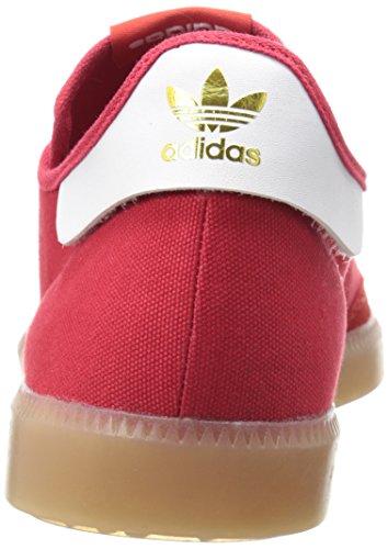 Adidas Originals Samba Mc Lifestyle Soccer-style Indoor Sneaker, Core noir / blanc / métallique / o Scarle-FTWWHT-GoldMt