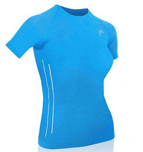 F Lite Ultralight 70T-shirt pour femme bleu clair