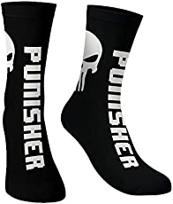 The souled store Cotton and Printed mens womens, Boys and girls Punisher: Skull Socks