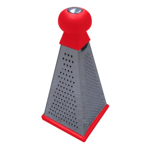 Anika Soft Grip Grater, Red