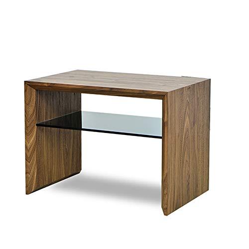 Glas-entertainment-rack (ZHIRONG Nordic Multifunktions-Sofa Beistelltisch Nachttisch Handlauf Kabinett Mobile Couchtisch Kleine Quadratische Tabelle Magazin Rack 40 * 35 * 54 cm)