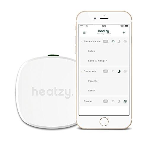 HEATZY Thermostat de chauffage connecté