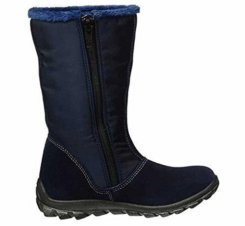 Ricosta Emilia, Bottes de neige de hauteur moyenne, doublure chaude fille Bleu