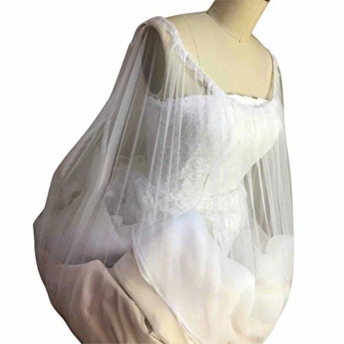 JHion Wedding Hochzeitskleid Hochzeitsmode Weiß 95cm