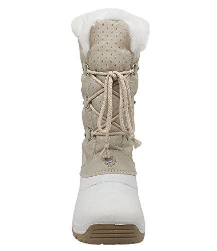 Styl Grand - 3009 - Bottes de neige Canadiennes Femme Beige