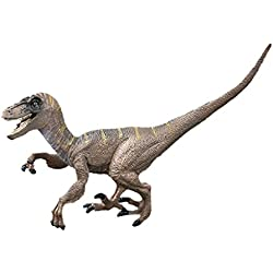 Juguetes Colección de Figura Modelo Dinosaurio Jurásico Velociraptor Mundo PVC
