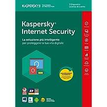 Kaspersky Lab KL1941T5CFS-8SLIM Internet Security 2018 3 User 1 Year