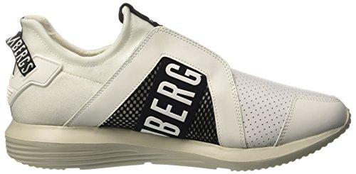 Bikkembergs Speed 870, Sneakers basses homme Bianco