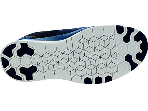 Nike Free 5.0 Print, Chaussures de running entrainement femme Bleu (Bleu/Blanc)