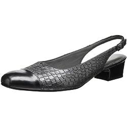 Trotters Dea Damen US 8 Grau Breit Pumps Schuhe