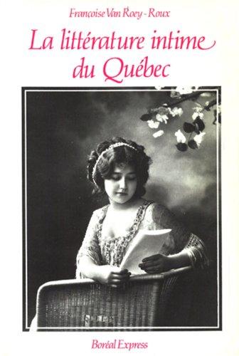 Littérature intime du Québec