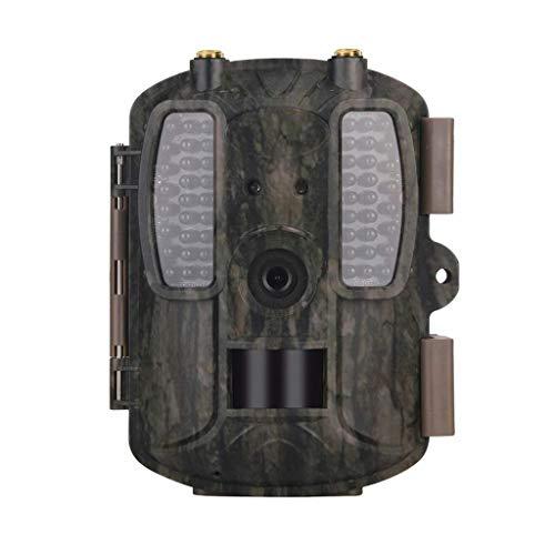 KLEDDP 4G Wildlife Camera Aktiviert Nachtsicht IP66 Trap 12MP (2,0 Zoll LCD-Display) Infrarot-Sportarten Wasserdicht Outdoor-Bereich Home Security Surveillance 1080P Field Capture Cam Wildkamera Surveillance Security Cam