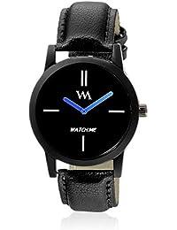 Watch Me Analogue Black Dial Men's & Boy's Watch -Wmc-002Fc