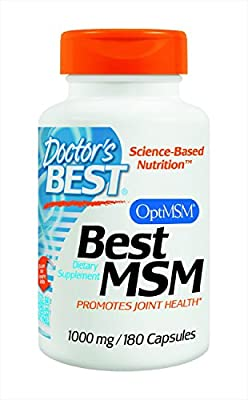 Best Msm 1000mg 180 Tabs from Doctor's Best