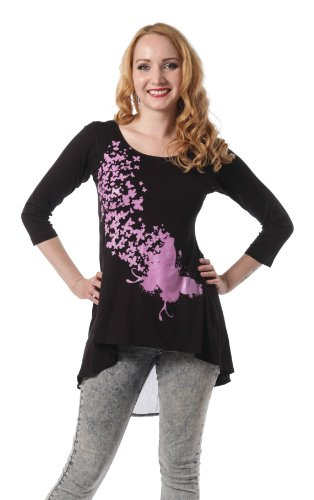 Innocent Top HELEN TOP black Black