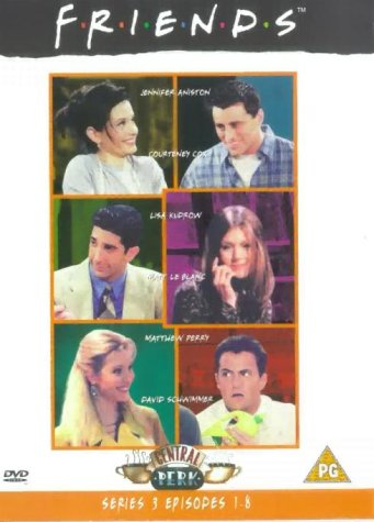 Click for larger image of Friends - Series 3 - Episodes 1-8 [DVD] [1995]