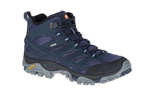 Merrell J12123, Chaussures de Randonnée Hautes Homme, Blue (Navy Navy), 42 EU