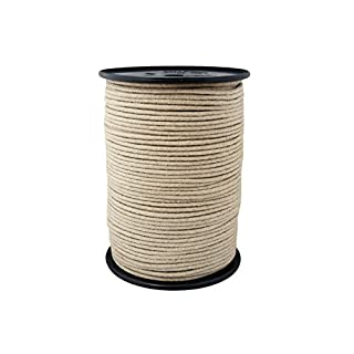Hemp Rope Cord 3mm 100m Braided Color Natural