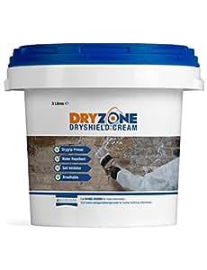 Dryshield Cream 3L: Dryzone System: Salt Resistant Masonry Cream