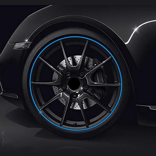 Pinalloy - Anello di Copertura per Cerchioni Auto in PVC, per Cerchi da 13-22 Po