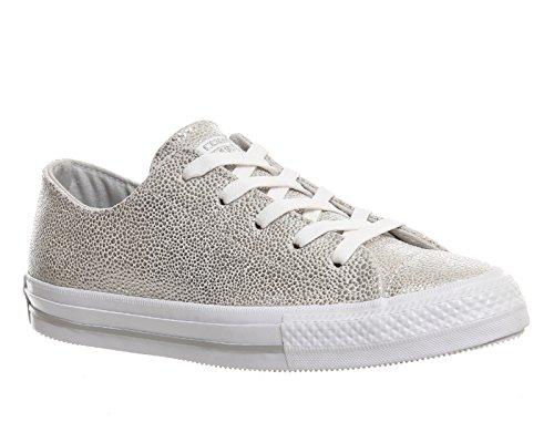Converse , Herren Sneaker Pure Silver Stingray Leather Exclusive
