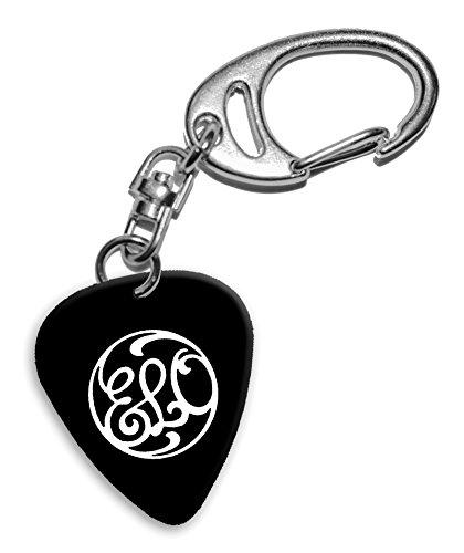 ELO Electric Light Orchestra Band Logo Gitarre Plektrum Schlüsselanhänger (H)